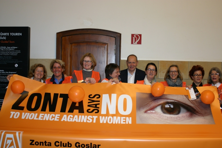 Zonta says NO 2018 | Copyright: ZC Goslar