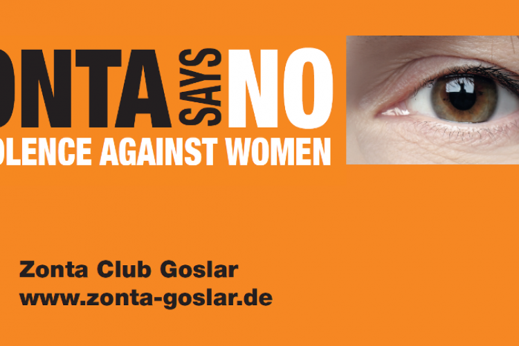 Zonta says NO | Copyright: ZC Goslar