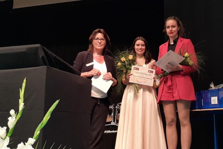 Abiturientinnen-Preis 2021   © ZC Goslar