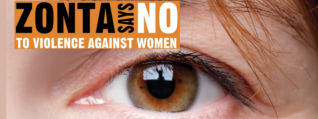 Zonta says NO Banner